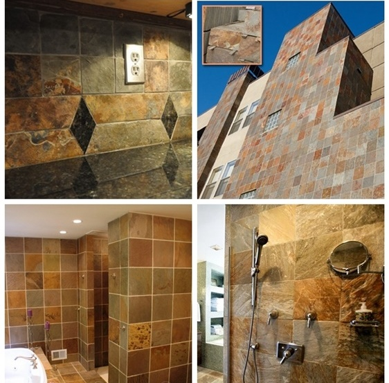 Indian slatestone tiles